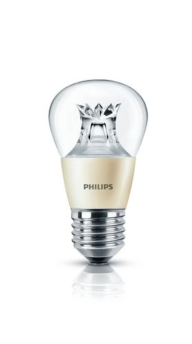 Philips Master LED luster 4 Watt E27 klar warmweiss DimTone