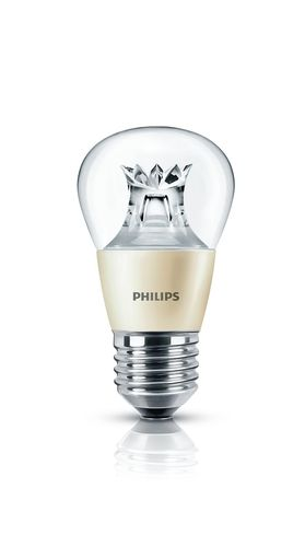 Philips Master LED luster 6 Watt E27 klar warmweiss DimTone