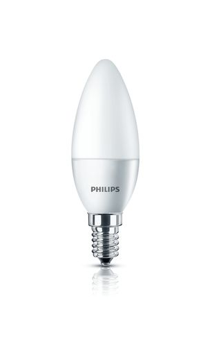 Philips LED CorePro Kerze 4 Watt E14 matt warmweiss