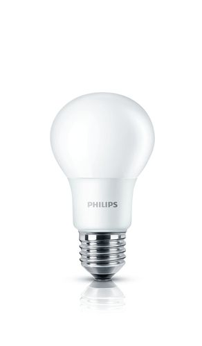 Philips LED CorePro Bulb 8 Watt E27 matt warmweiss