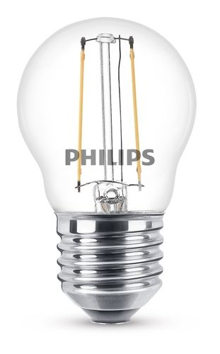 Philips Classic LED 2W 827 P35 klar