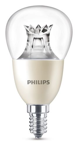 Philips Master LED luster 8 Watt E14 klar warmweiss DimTone