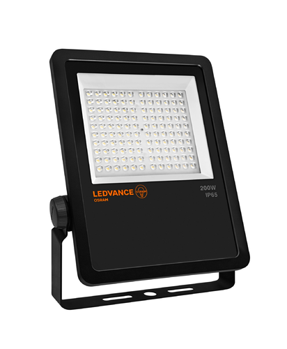 Ledvance FLOODLIGHT LED-Fluter ASYMMETRIC 200 W 4000 K BK