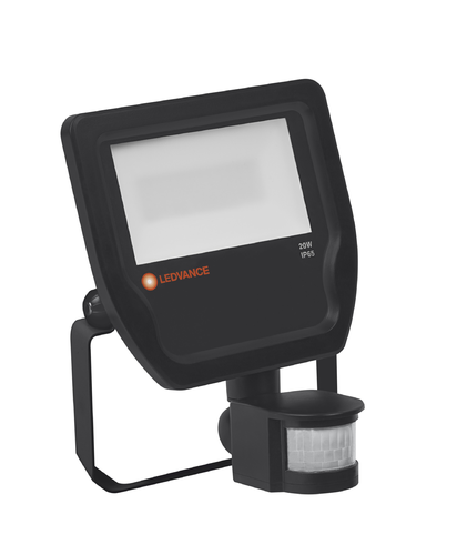 Ledvance FLOODLIGHT LED-Fluter SENSOR 20 20 W 4000 K IP65 BK S